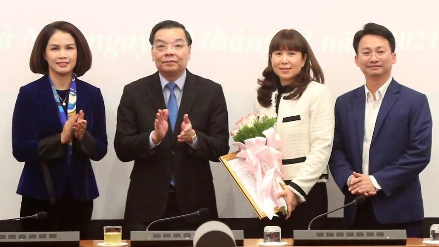Đồng chí Đặng Hương Giang được bổ nhiệm làm Giám đốc Sở Du lịch Hà Nội