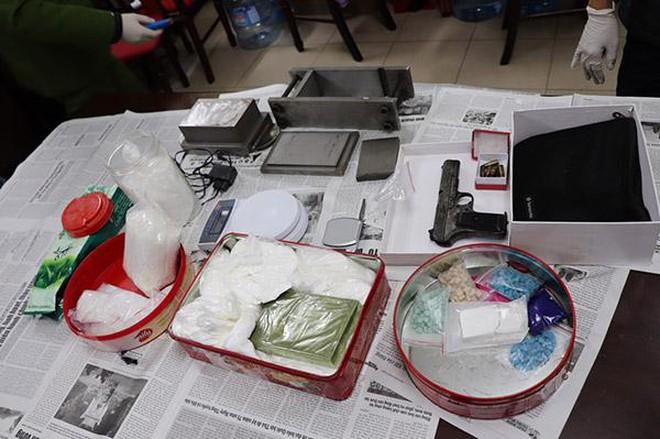 Công an Hà Nội đánh sập đường dây mua bán trái phép ma túy cực 'khủng' ảnh 3