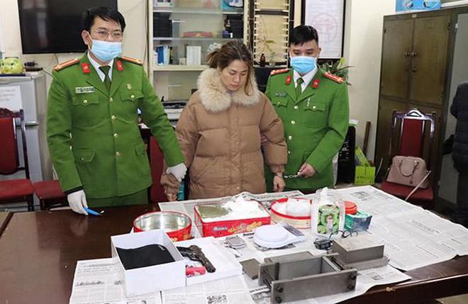 Công an Hà Nội đánh sập đường dây mua bán trái phép ma túy cực 'khủng' ảnh 1