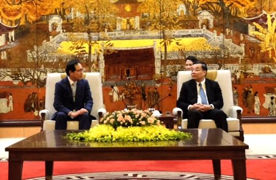 Hà Nội đề nghị Samsung chung sức với Thủ đô thúc đẩy dẫn đầu về đổi mới sáng tạo