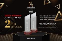 DKRA Việt Nam đón nhận bộ đôi giải thưởng danh giá Đông Nam Bộ