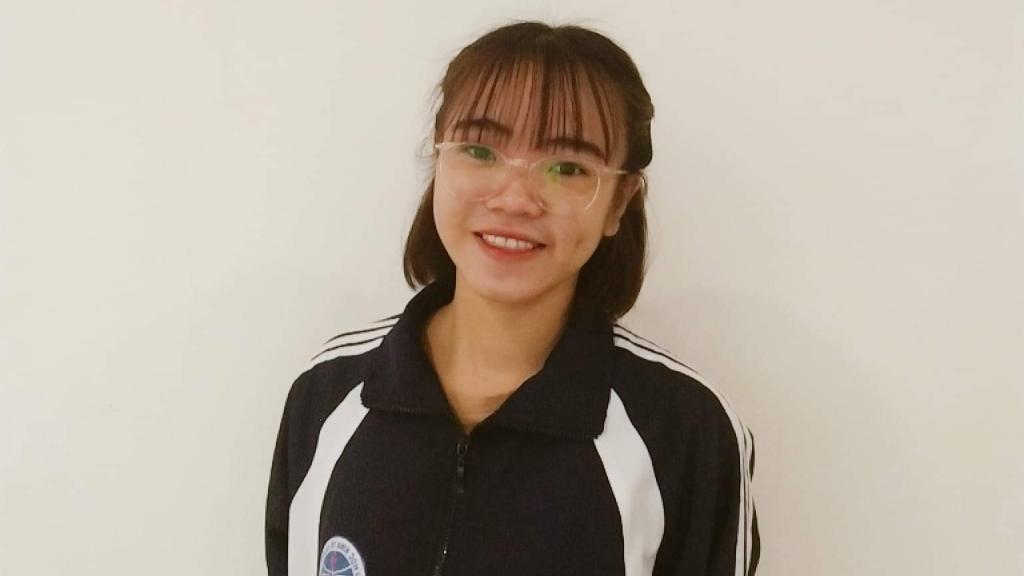 Nguyễn Thị Thu Thảo, sinh viên trường Đại học Kinh tế Quốc dân