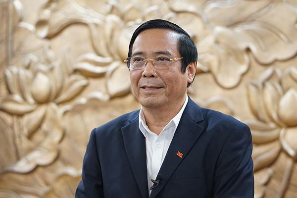 Ông Nguyễn Thanh Bình, Ủy viên Trung ương Đảng, Phó Trưởng ban Thường trực Ban Tổ chức Trung ương
