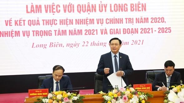 Quận Long Biên cần đầu tư hạ tầng sản xuất, tạo nền tảng lâu dài cho tăng trưởng