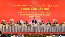 1.587 đại biểu tham dự Đại hội đại biểu toàn quốc lần thứ XIII của Đảng