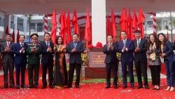 Quận Bắc Từ Liêm gắn biển 3 công trình chào mừng Đại hội Đảng toàn quốc