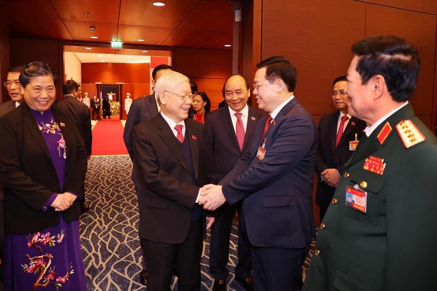Tổng Bí thư, Chủ tịch nước dự phiên họp trù bị Đại hội XIII của Đảng - ảnh 2