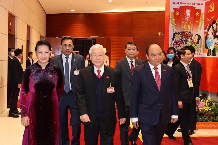 Tổng Bí thư, Chủ tịch nước dự phiên họp trù bị Đại hội XIII của Đảng - ảnh 1