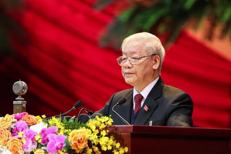Toàn văn phát biểu của Tổng Bí thư, Chủ tịch nước tại Đại hội XIII của Đảng