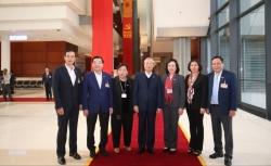 Đoàn đại biểu thành phố Hà Nội thảo luận, góp ý vào dự thảo Văn kiện Đại hội Đảng