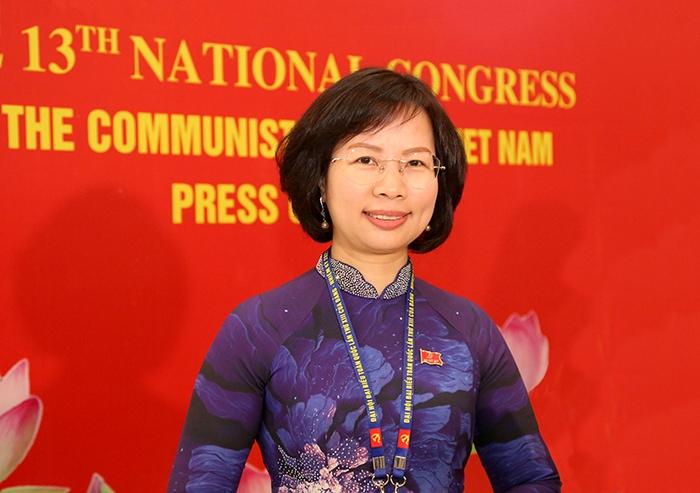 Đồng chí Bùi Huyền Mai, Trưởng ban Tuyên giáo Thành ủy Hà Nội