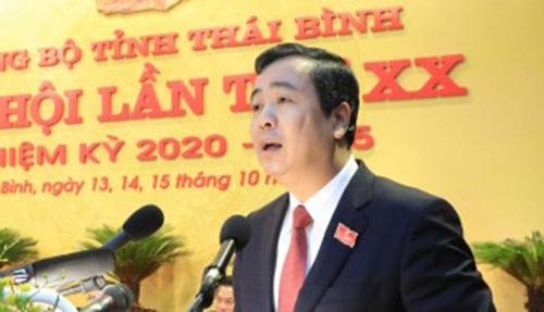Bí thư Tỉnh ủy Thái Bình Ngô Đông Hải trúng cử Ủy viên chính thức BCH Trung ương Đảng khóa XIII
