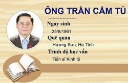 Đồng chí Trần Cẩm Tú tiếp tục được bầu làm Chủ nhiệm Uỷ ban Kiểm tra Trung ương khoá XIII
