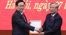 Phó Thủ tướng Chính phủ Vương Đình Huệ làm Bí thư Thành ủy Hà Nội