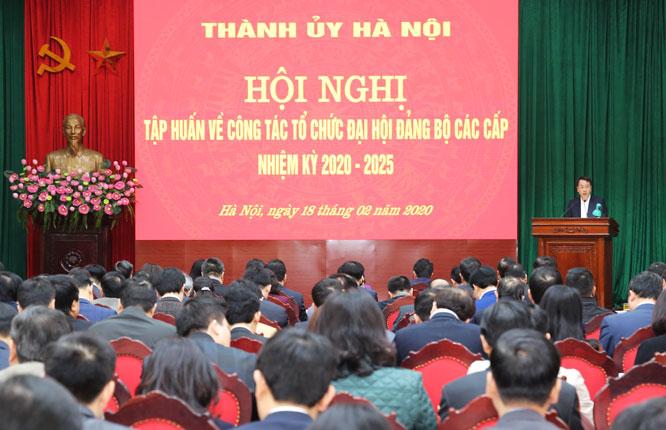 khong de tam ly ngai va cham ne tranh viec kho trong cong tac to chuc dai hoi
