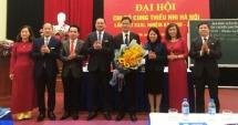Đồng chí Lê Quang Đại được bầu giữ chức Bí thư Chi bộ Cung Thiếu nhi Hà Nội
