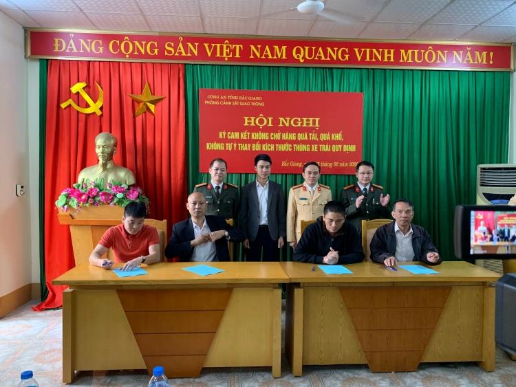 Doanh nghiệp vận tải Bắc Giang