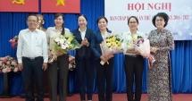 Bà Nguyễn Trần Phượng Trân giữ chức Chủ tịch Hội Liên hiệp Phụ nữ TP HCM