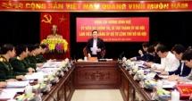 Bí thư Thành ủy Hà Nội Vương Đình Huệ kiểm tra công tác tổ chức Đại hội Đảng tại Bộ Tư lệnh Thủ đô