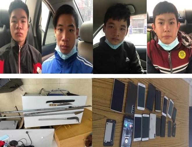 Chiến công xuất sắc của CAQ Hà Đông: Truy nóng, bắt gọn ổ nhóm 4 anh em ruột gây hàng loạt vụ cướp, cướp giật, trộm ảnh 1