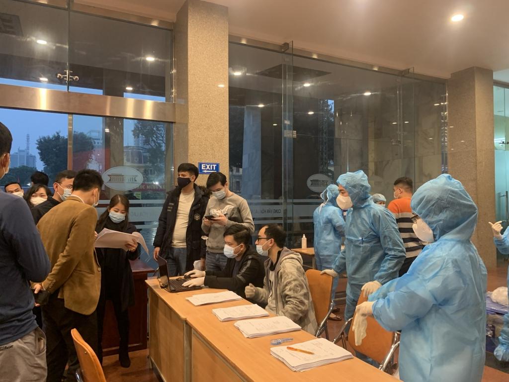 Cùng với việc xét nghiệm, Ban tổ chức sẽ tiếp tục thực hiện nghiêm ngặt các biện pháp phòng,chống dịch