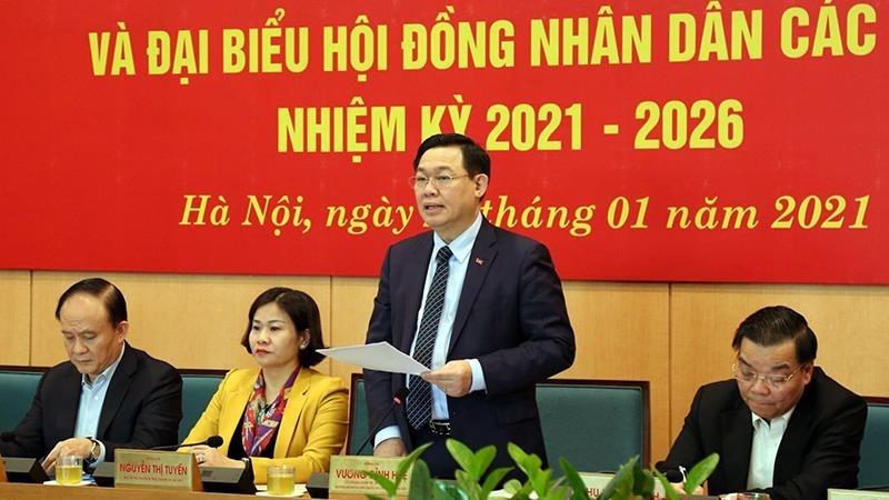 Hà Nội thành lập 15 đoàn công tác chỉ đạo bầu cử đại biểu Quốc hội và HĐND các cấp