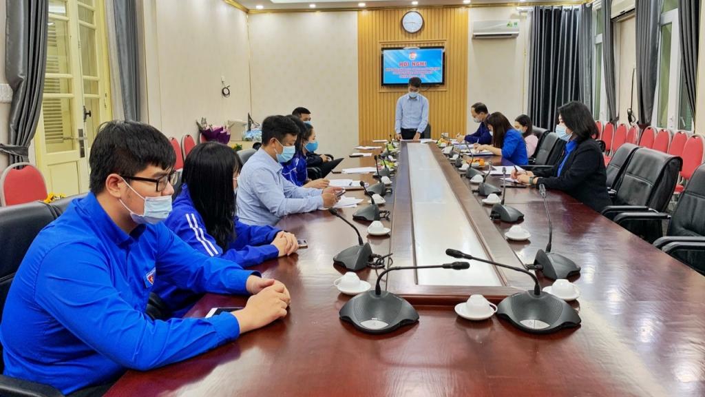 Hội nghị kiện toàn nhân sự Ban Chấp hành Đoàn Thanh niên Cơ quan Thành đoàn  Hà Nội khoá XXIX