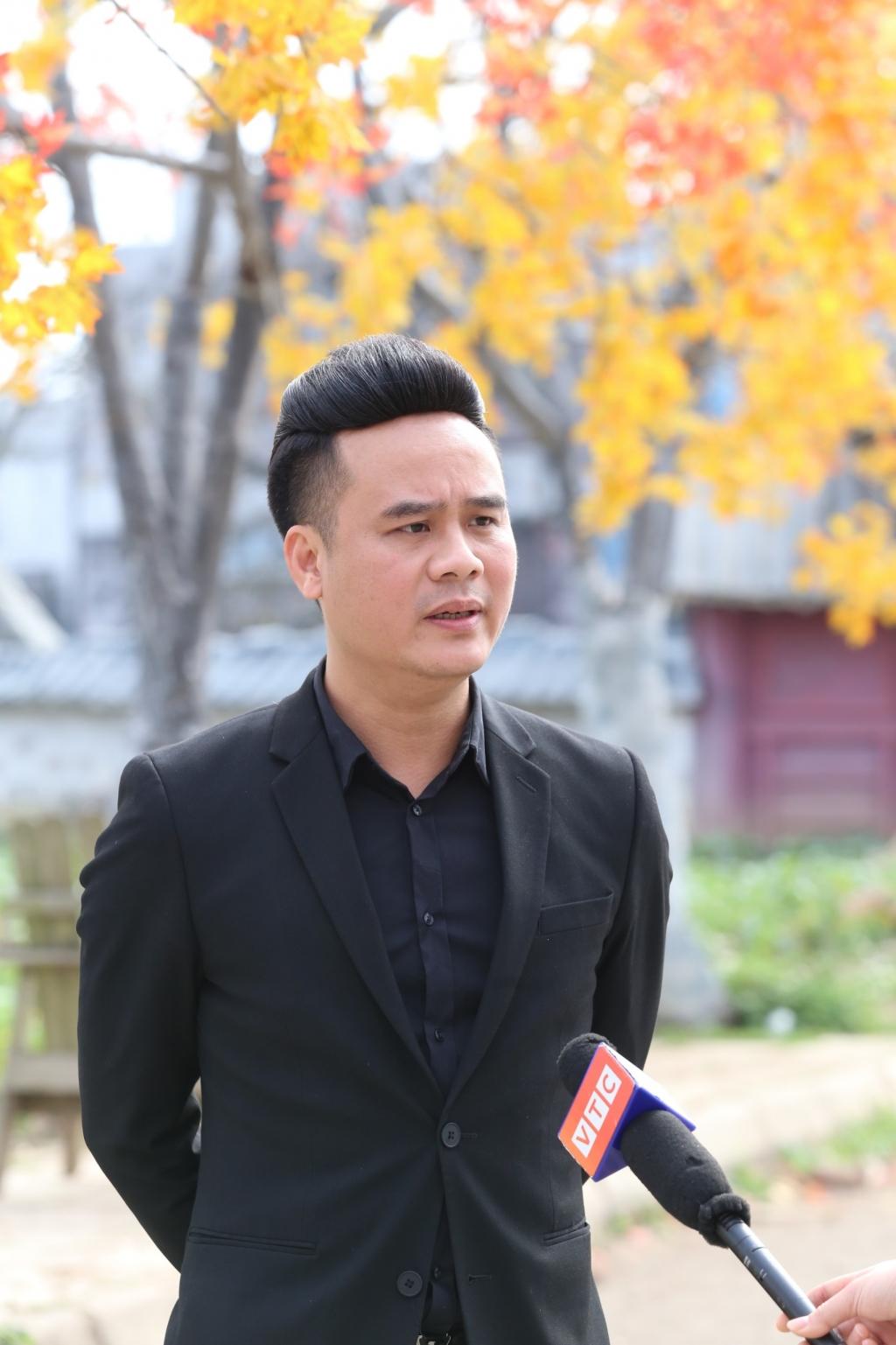 Đạo diễn Mai Thanh Tùng