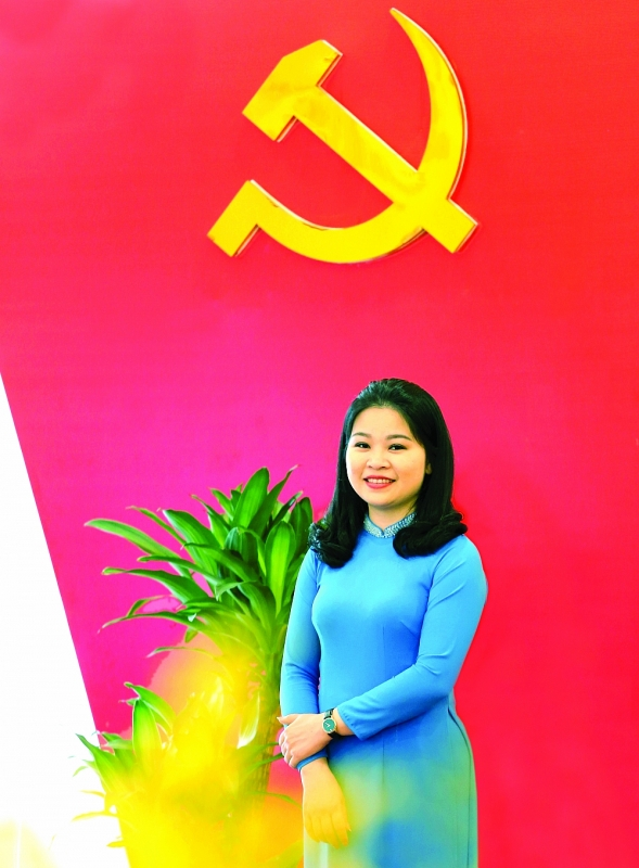 Đồng chí Chu Hồng Minh - Ủy viên Ban Thường vụ Trung ương Đoàn, Thành ủy viên, Bí thư Thành đoàn Hà Nội Ảnh: VƯƠNG ĐỨC