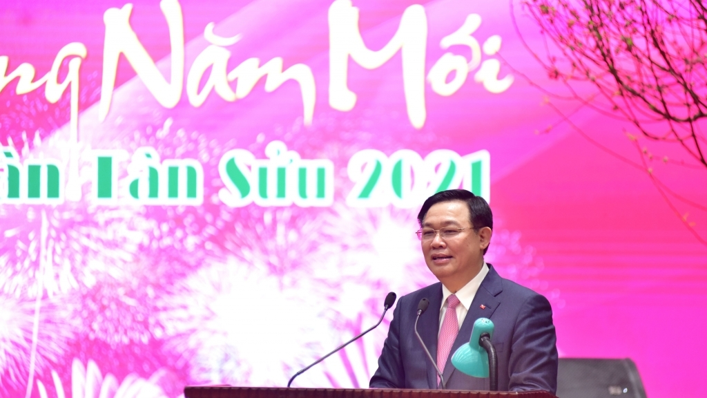 Bí thư Thành ủy Hà Nội Vương Đình Huệ: Quyết tâm giành thắng lợi lớn trong năm 2021