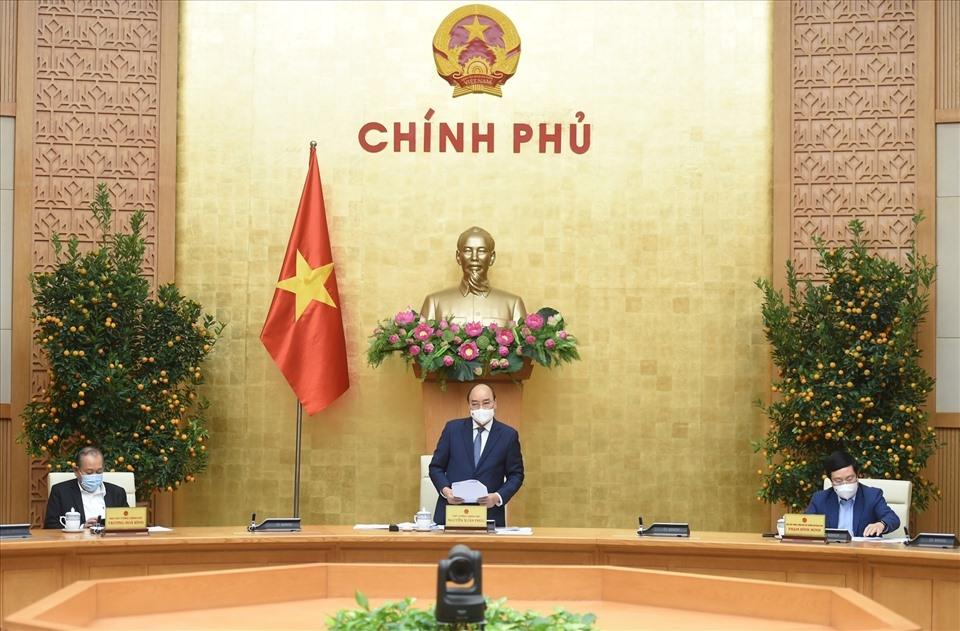 Thủ tướng Nguyễn Xuân Phúc chủ trì cuộc họp Thường trực Chính phủ bàn về tình hình Tết, triển khai các nhiệm vụ trọng tâm sau Tết