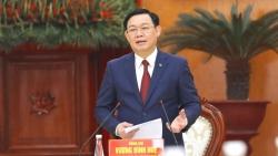 Bí thư Thành ủy Hà Nội Vương Đình Huệ gửi thư tới Đảng bộ, chính quyền, Nhân dân tỉnh Hải Dương