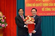 Ban Bí thư điều động Thứ trưởng Bộ KH&ĐT giữ chức Phó Bí thư Tỉnh ủy