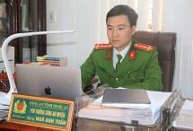 """Đại úy Ngô Anh Tuấn - """"khắc tinh"""" của tội phạm miền Tây xứ Nghệ"""