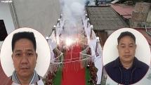 Lý do khởi tố hai đối tượng đốt băng pháo dài chục mét trong đám cưới ở Sóc Sơn