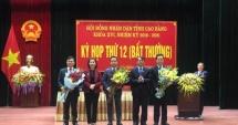 UBND tỉnh Cao Bằng có Phó Chủ tịch 40 tuổi