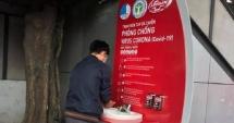 Hoàn thành và đưa vào sử dụng hai trạm rửa tay dã chiến của Đoàn