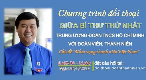 doi thoai khat vong thanh nien viet nam