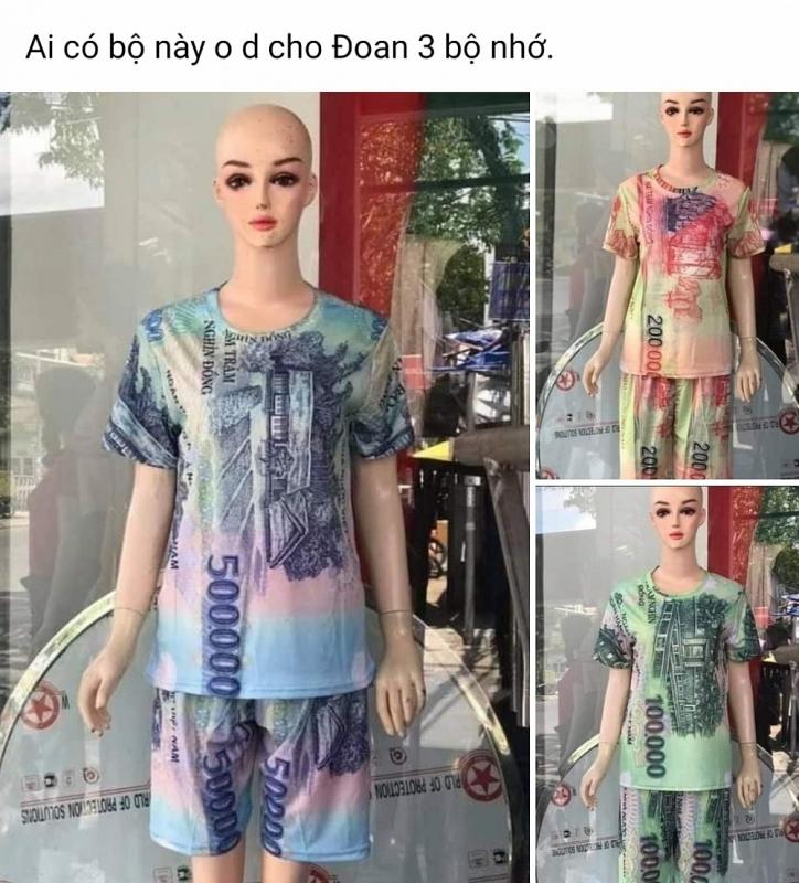 Bán quần áo in hình tiền Việt Nam: Xử phạt hành chính đến 50 triệu đồng