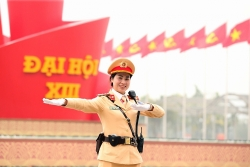 """""""Bông hoa Ban"""" của lực lượng CSGT Hà Nội"""