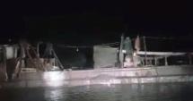 Hải Dương: Bắt quả tang một tàu hút cát trộm trên sông Thái Bình