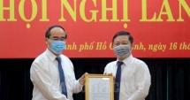 Ông Dương Anh Đức giữ chức Phó Chủ tịch UBND TP HCM