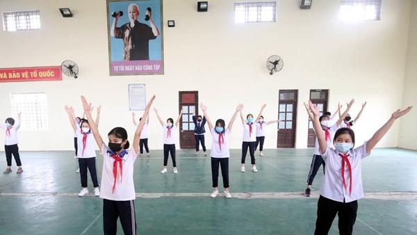 Phấn đấu trên 90% học sinh, sinh viên đạt tiêu chuẩn rèn luyện thân thể