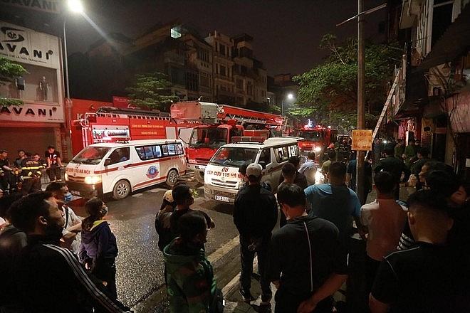 Hiện trường vụ cháy khiến 4 người tử vong (ảnh internet)
