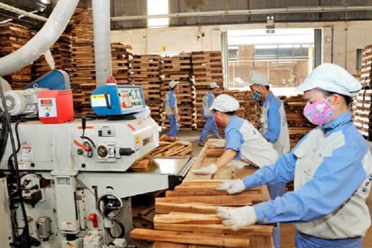 Sản xuất gỗ là một trong những ngành nghề được hoãn, giãn nộp thuế
