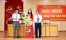 cong bo quyet dinh cua bo chinh tri ve cong tac can bo