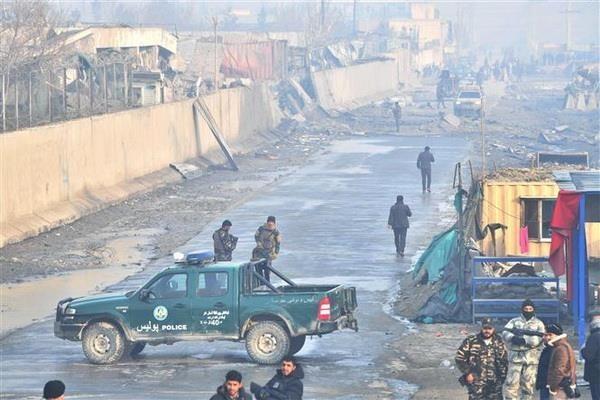 afghanistan danh bom xe cho nhan vien chinh phu tai thu do kabul