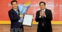 Bí thư Tỉnh ủy Thái Bình Nguyễn Hồng Diên làm Phó Ban Tuyên giáo Trung ương