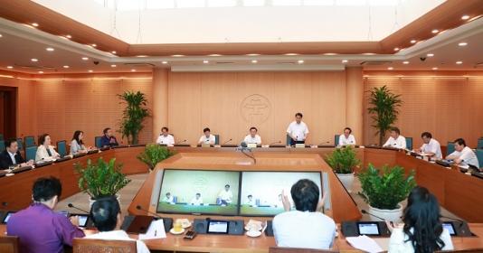 Hà Nội cam kết phát triển kinh tế, xã hội quyết liệt như phòng chống dịch