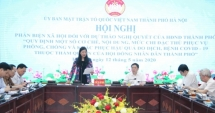 MTTQ TP Hà Nội lấy ý kiến phản biện về mức chi đặc thù trong phòng, chống dịch Covid-19